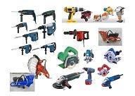Maquinaria y herramientas electricas